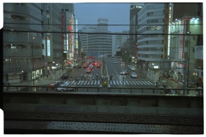 Leica M3, 50mm f2 Summicron, Kodak 160NC, Early Morning Tokyo