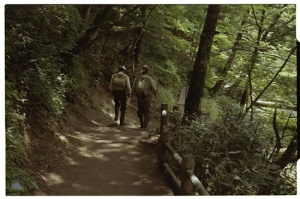 Leica M3, 50mm f2 Summicron, Kodak 160NC, Fishermen along path