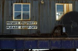 Private Property (Nikon D2H + 40mm f2 ULTRON)