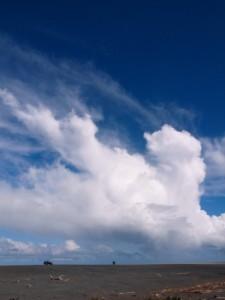 Fine weather at Lake Ferry beachfront (Ricoh GR Digital)