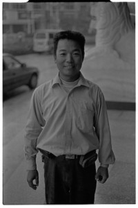 Mr Yu, the motorcycle driver (Leica M6 + 50mm f2 Summicron + Kodak Tri-X)