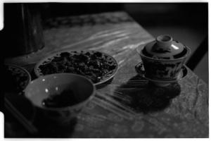 Dinner (Leica M6 + 50mm f2 Summicron + Fuji Neopan 1600)