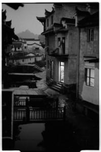 Xiao Likeng Village at night (Leica M6 + 50mm f2 Summicron + Fuji Neopan 1600)