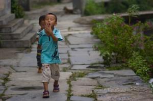 Xiao Likeng little villager (Nikon D2H + 40mm f2 ULTRON)