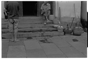 ... except for villagers (Leica M6 + 50mm f2 Summicron + Kodak Tri-X)