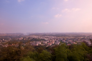 View from Sheshan (Nikon D300, 12-24mm f4)