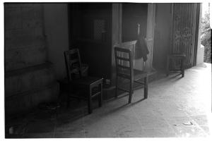 Chairs  (Leica M3, 50mm f1.5 Summarit, Kodak 125PX)