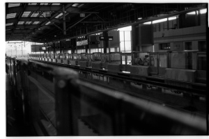 Sheshan Metro Line 9 Station (Leica M3, 50mm f1.5 Summarit, Kodak 125PX)