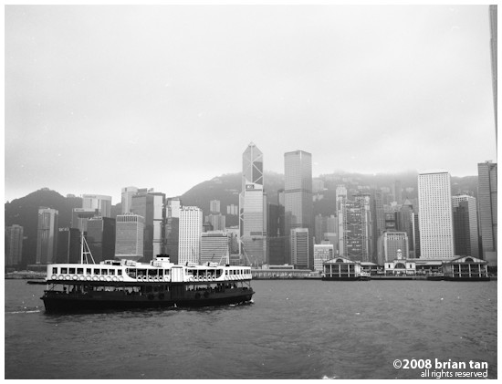 Hong Kong Harbour Ferry