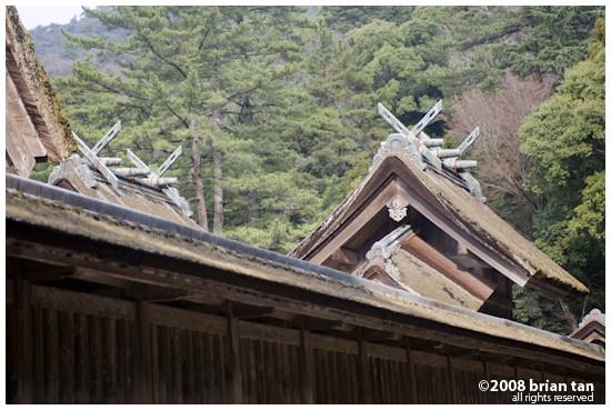 Izumo Taisha roof details