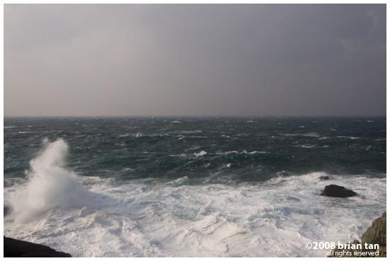 Rough seas at Hinomisaki