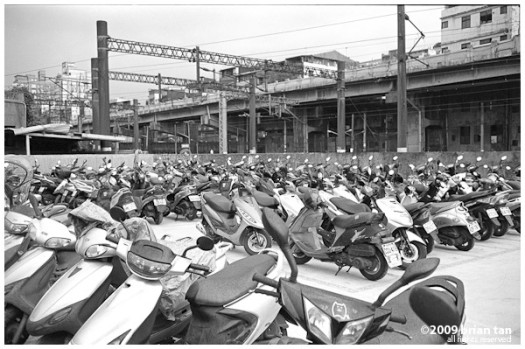 And before I start a post about Taiwan, why not start with a photo of the bikes!