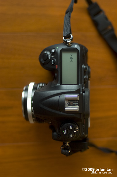 ULTRON mounted on a D300 body
