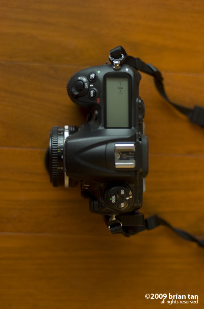 AIS mounted on a D300 body