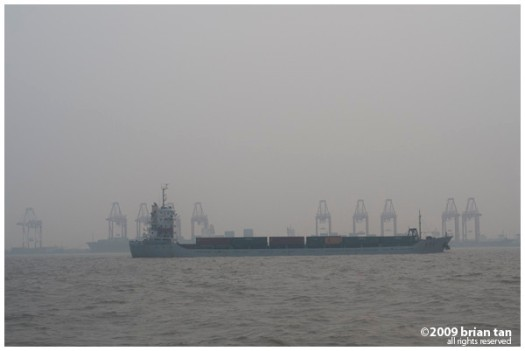 Port of Shanghai at Pudong
