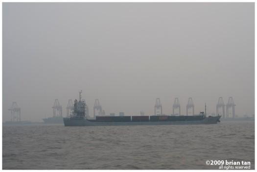 Port of Shanghai at Pudong