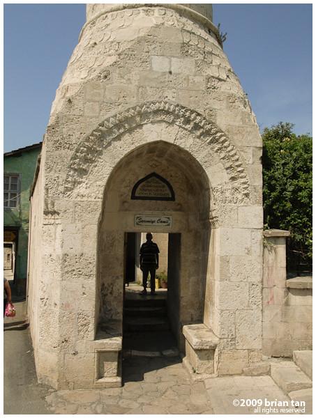 A mosque on Kurtulus Caddesi
