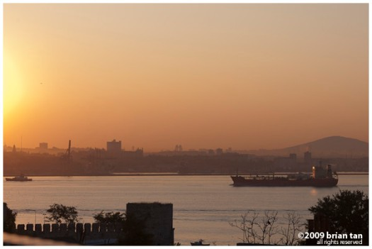 Morning in Istanbul...