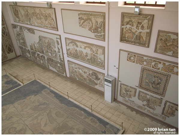 Museum Exhibit 3: Plenty of mosaics in this museum, mostly coming from Harbiye just outside Antakya