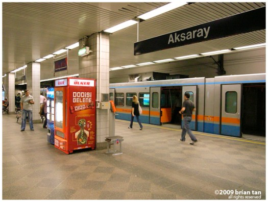 Aksaray Metro Station