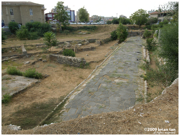 Excavated Roman Road