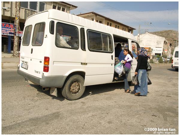 Boarding public transport