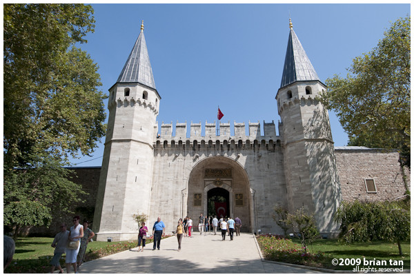 Entrance to Topkapi Palace