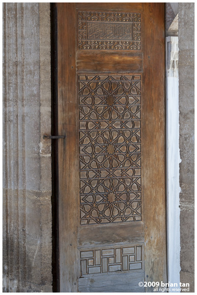 Selimiye Mosque: Even the door carvings are impressive