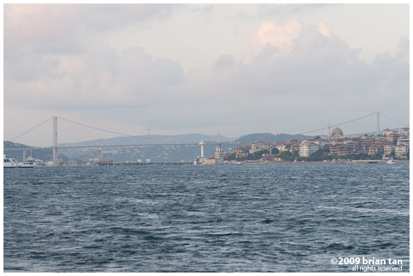 Bosphorus Bridge in the distance