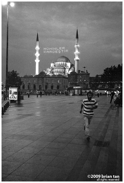 Yeni Mosque at Eminonu