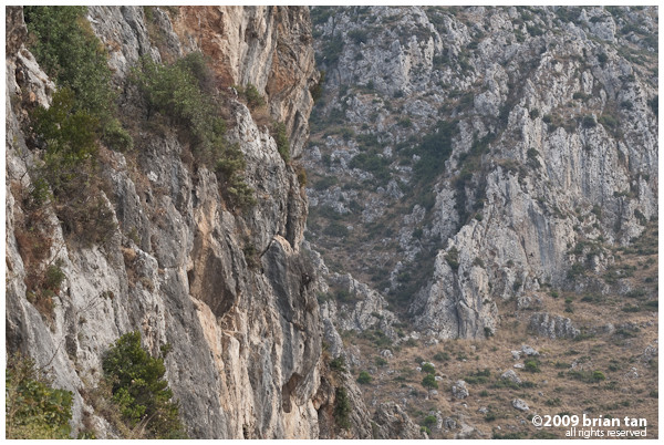 Mountains surrounding Antakya