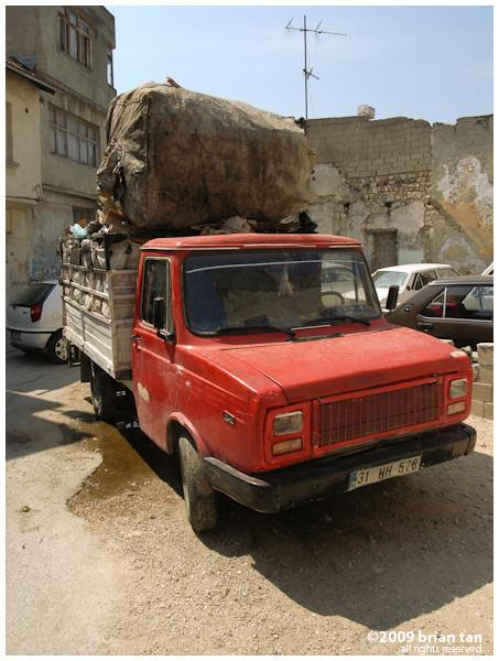 Local transport lorry