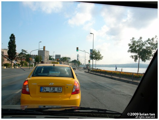 On Kennedy Ave next to the sea of Marmara