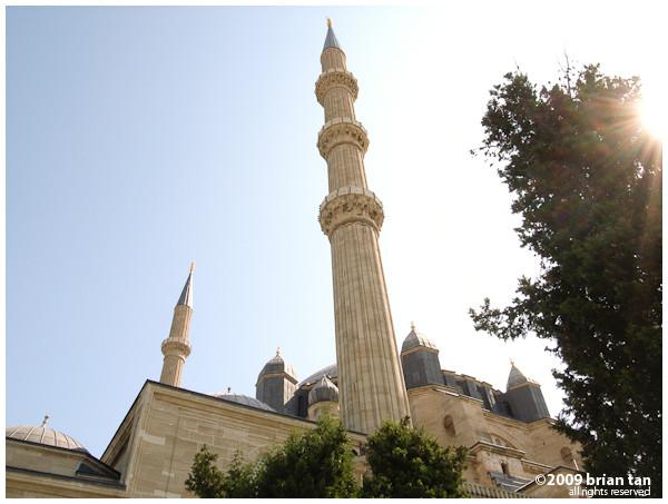 Selimiye Mosque: Minaret