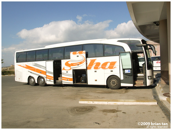 On the way to Adana... my next stop.