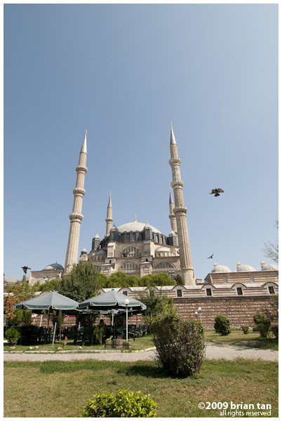 Edirne's Selimiye Mosque, one of Mimar Sinan's most popular creation