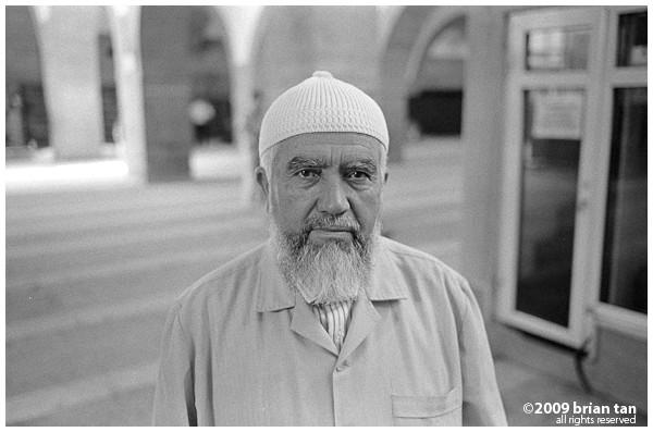 Hunat Hatun Mosque: Un portrait de la concierge
