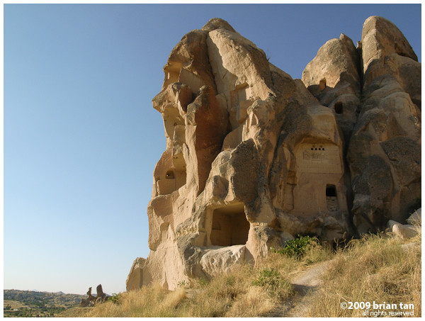 Sometimes these rock cut churches or houses can look the same, and they are everywhere you look