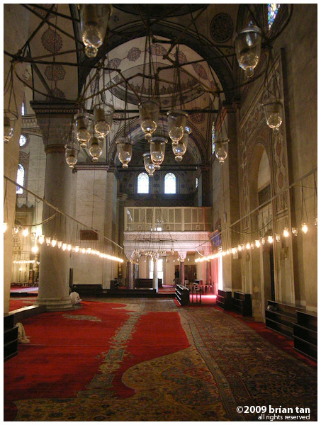 Sultan Beyazit 2 Mosque: Interiors