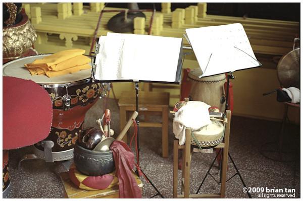 Xianggou Monastery: Proof of music notes
