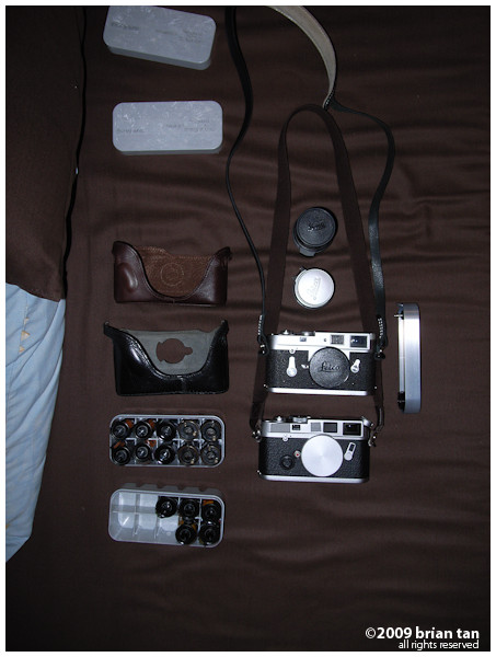 Retro province requires retro equipment. Leica M6 and M2 doing the duties for Henan Province along with 15 rolls of film.