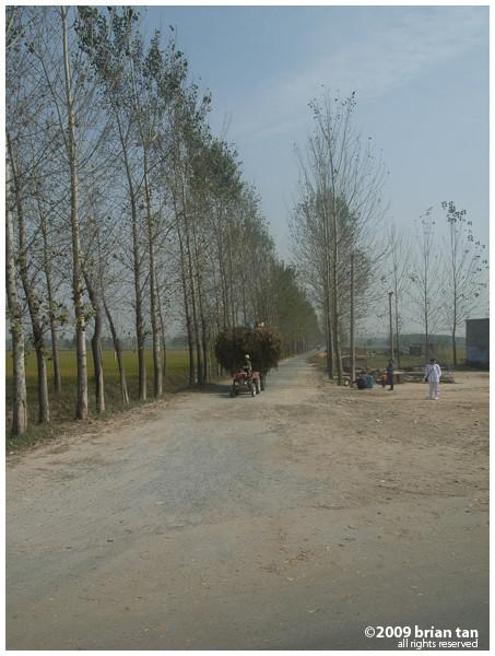 ... through rural China