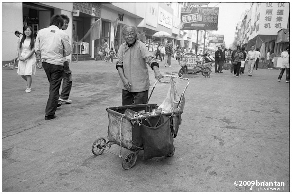 On the streets of Kaifeng