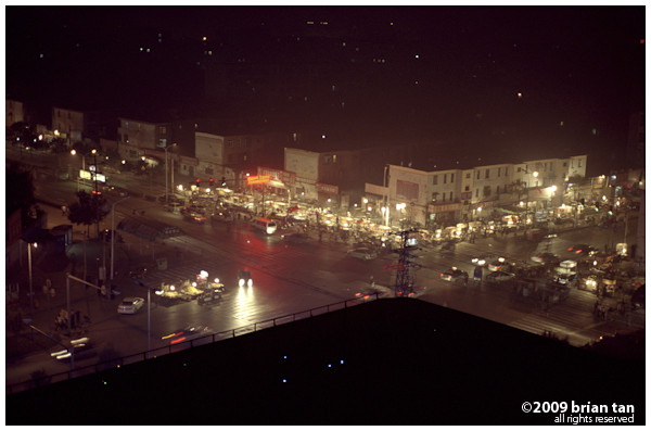 Kaifeng at night: Notice the night markets
