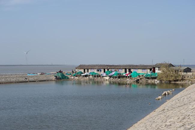 Worker housing area