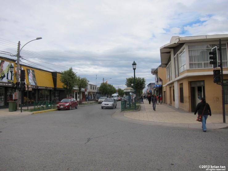 Main Street Puerto Natales