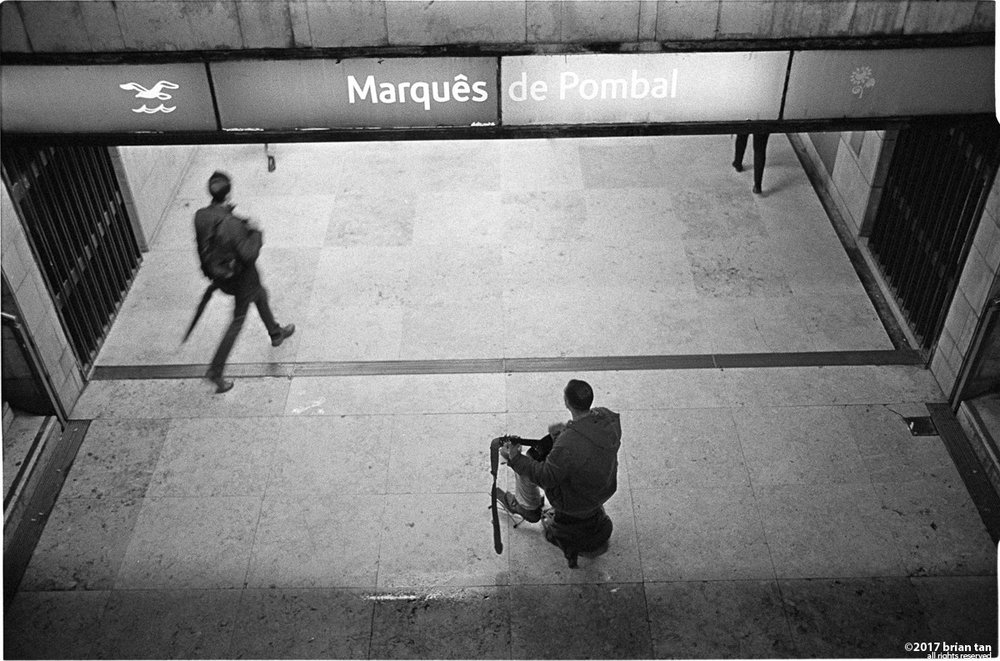 Marques de Pombal Metro Station